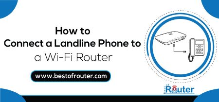 How to Connect a Landline Phone to a WiFi Router
