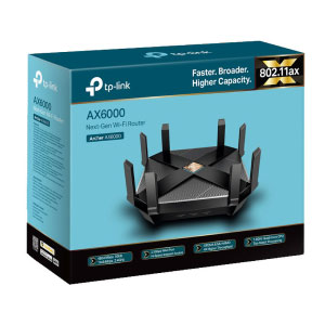TP-Link AX6000 Wi-Fi 6 Router (Archer AX6000)